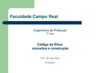 Faculdade Campo Real