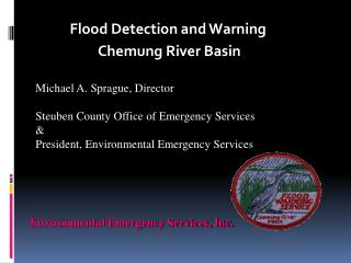 Flood Detection and Warning  Chemung River Basin