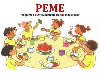 Programa de Enriquecimento da Merenda Escolar