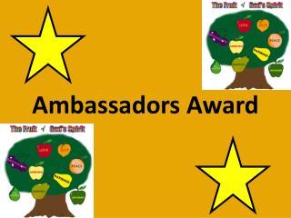 Ambassadors Award