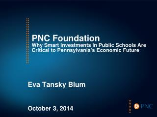 Eva Tansky Blum October 3, 2014