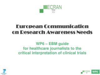 ECRAN –  EBM guide for healthcare journalists