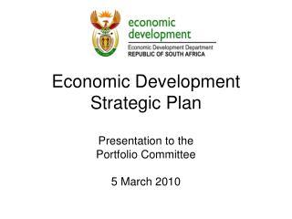 Economic Development Strategic Plan