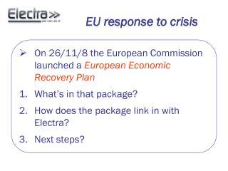 EU response to crisis