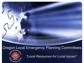 Oregon Local Emergency Planning Committees