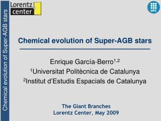 Chemical evolution of Super-AGB stars