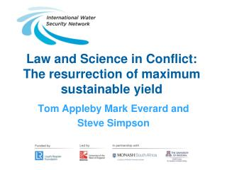 Law and Science in Conflict: The resurrection of maximum sustainable yield