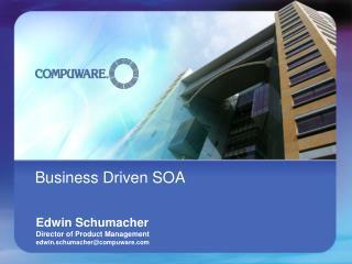 Business Driven SOA
