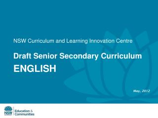 NSW Curriculum and Learning Innovation Centre