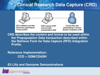 Clinical Research Data Capture (CRD)