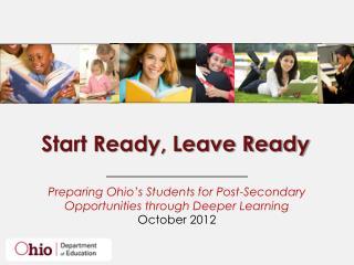 Start Ready, Leave Ready