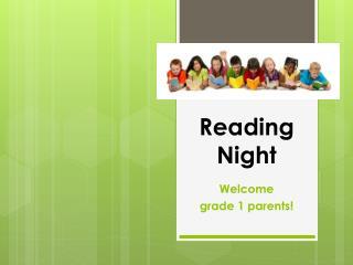 Reading Night