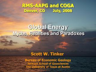 Bureau of Economic Geology Jackson School of Geosciences The University of Texas at Austin