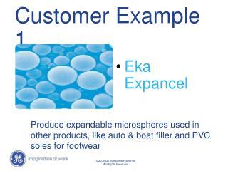 Customer Example 1