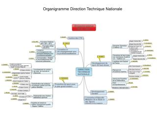Organigramme Direction Technique Nationale