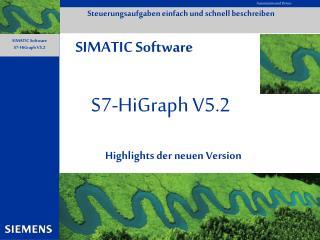 S7-HiGraph V5.2