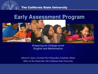 Early Assessment Program