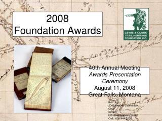 2008 Foundation Awards