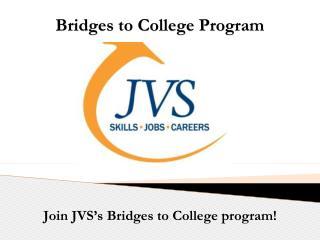 Bridges to College Program