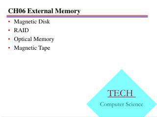CH06 External Memory