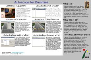 Autoscope for Dummies