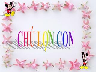 CH� L?N CON