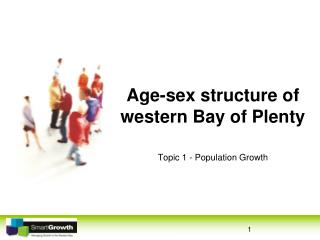 Age-sex structure of western Bay of Plenty