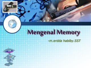 Mengenal Memory
