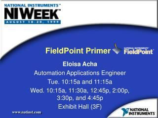 FieldPoint Primer