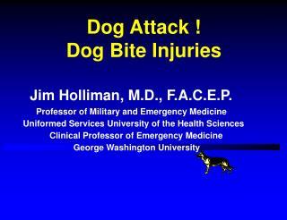 Dog Attack                 Dog Bite Injuries
