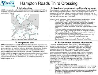 Hampton Roads Third Crossing