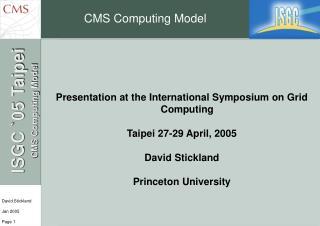 CMS Computing Model