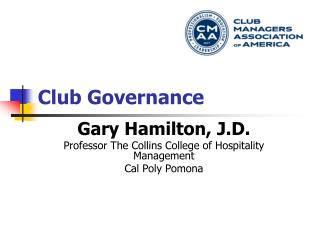 Club Governance