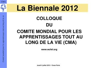 La Biennale 2012