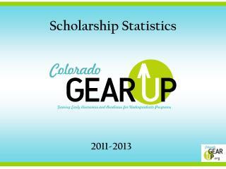 Scholarship Statistics