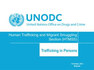 Human Trafficking and Migrant Smuggling Section (HTMSS)