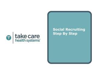 Social Recruiting Step By Step