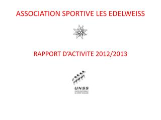 ASSOCIATION SPORTIVE LES EDELWEISS