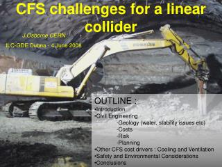 CFS challenges for a linear collider