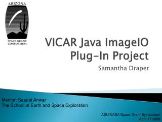 VICAR Java ImageIO Plug-In Project