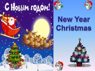New Year Christmas