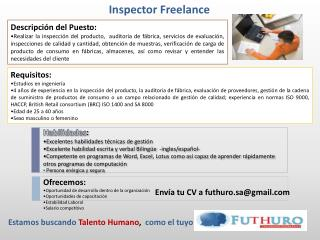 Inspector  Freelance