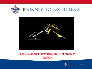 Performance Recognition Program TROOP