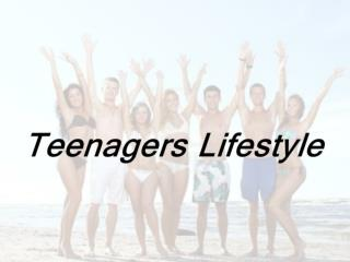 Teenagers '  eating habits