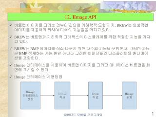 12. IImage API