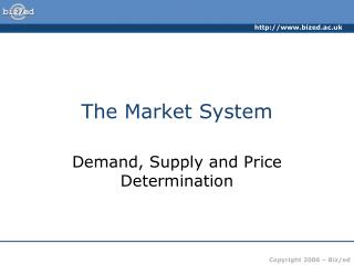 The Market System