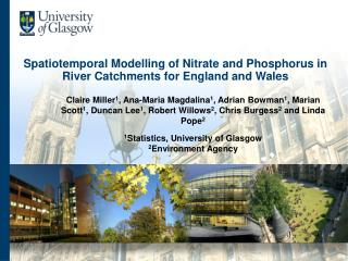 Spatiotemporal Modelling of Nitrate and Phosphorus in River Catchments for England and Wales