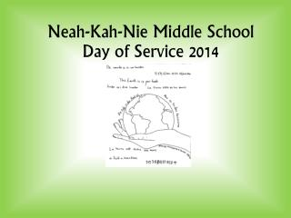 Neah-Kah-Nie Middle School Day of Service 2014