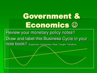 Government & Economics  