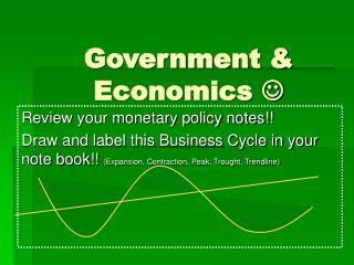 Government & Economics  